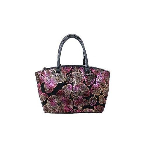 322-50 2237 Женская сумка замшевая Ludor Розовый