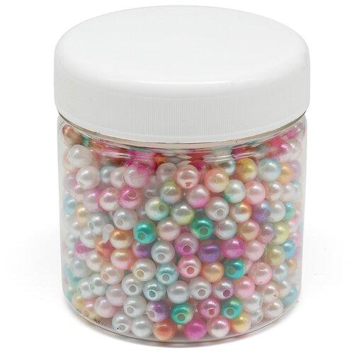 Купить Бусины жемчужный градиент, 6мм, 870шт (+/-5%), Astra&Craft, Astra & Craft, Фурнитура для украшений