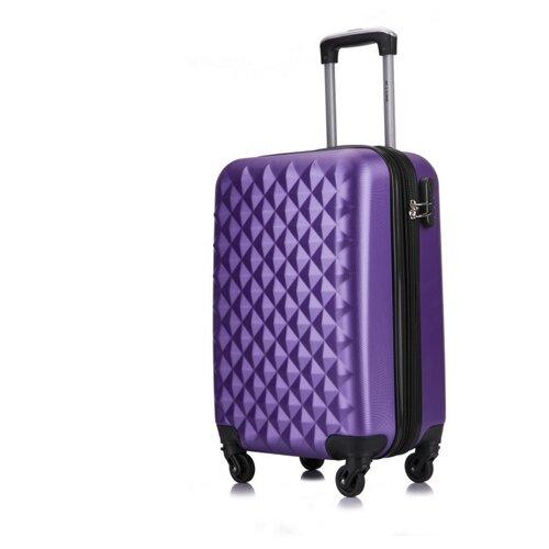 Чемодан LCase, Phatthaya с расширением, фиолетовый 24