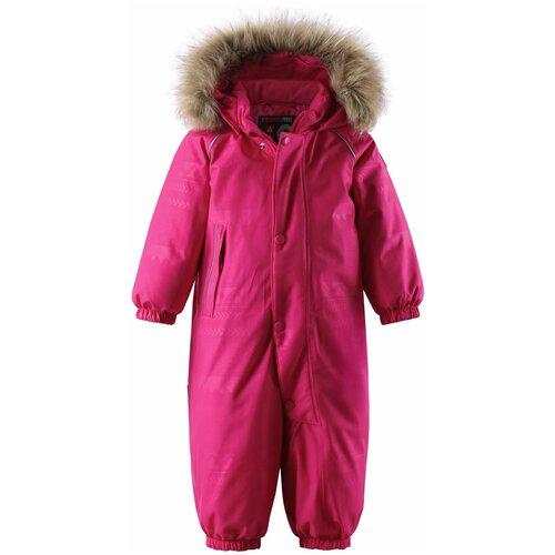 Купить Комбинезон Reima Aapua 510318 размер 74, raspberry pink, Теплые комбинезоны