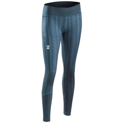 Леггинсы для скалолазания эластичные для девочек VERTIKA, темно-серые, размер: 123-130 CM 7-8, цвет: Сине-Серый SIMOND Х Декатлон