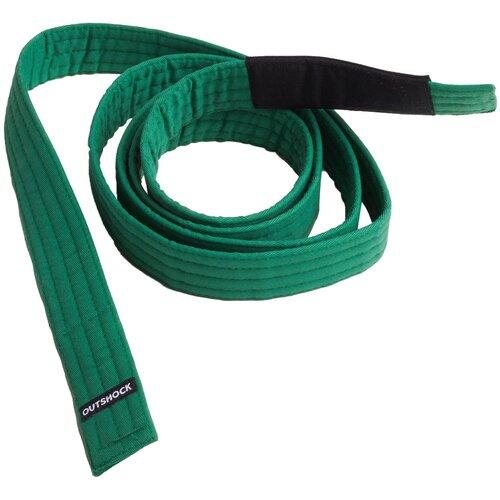 Пояс для бразильского джиу-джитсу 500 зелёный детский OUTSHOCK Х Декатлон M3