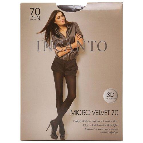 Колготки Incanto Micro Velvet, 70 den, размер 5-XL, Mocco (коричневый)