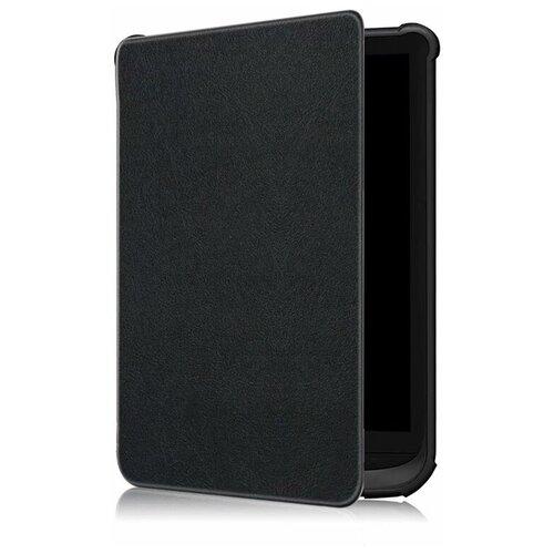 Чехол-обложка MyPads для PocketBook 627 / PocketBook 616 / PocketBook 632 с функцией включения-выключения и возможностью быстрого снятия черный