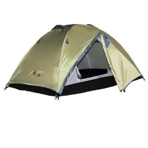 Палатка Indiana Lagos 3 зелeный палатка tramp lite twister 3