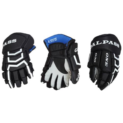Перчатки хоккейные GOAL&PASS G30 YTH детские(9 / темно-синий/9)