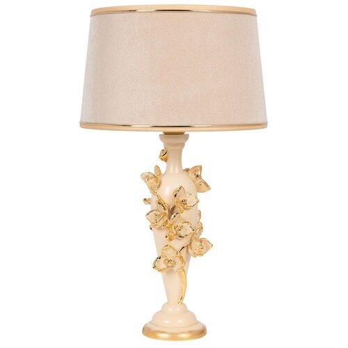 Фото - Настольная лампа BOGACHO Орхидея Лира тюссо, кремовый абажур bogacho 27 30 квадро