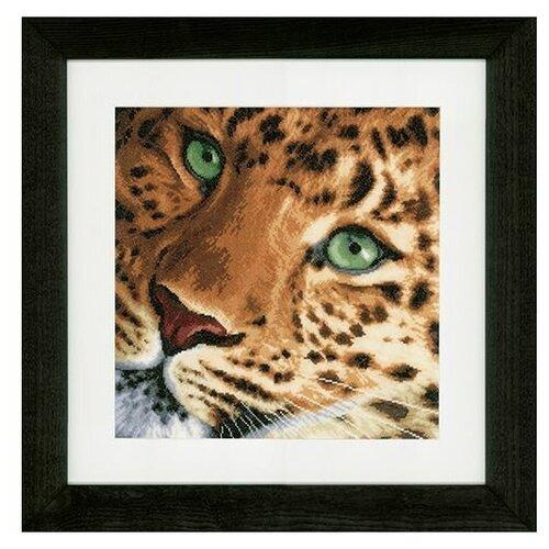 Купить Lanarte Набор для вышивания Леопард 35 x 34 см (0154944-PN), Наборы для вышивания
