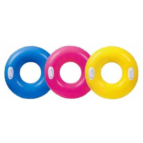 Фото - Надувной круг Intex 59258 надувной круг intex 117x75cm 56590