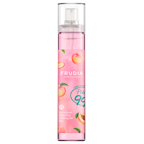 Frudia Гель-мист для лица с персиком My orchard peach real soothing gel mist, 125 мл