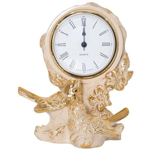 Часы настольные BOGACHO Терра Симфони Айвори часы настенные bogacho терра бронза