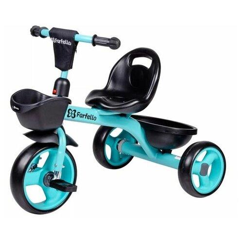 Купить Детский трехколесный велосипед (2021) Farfello S-06A Мятный S-06A, Трехколесные велосипеды