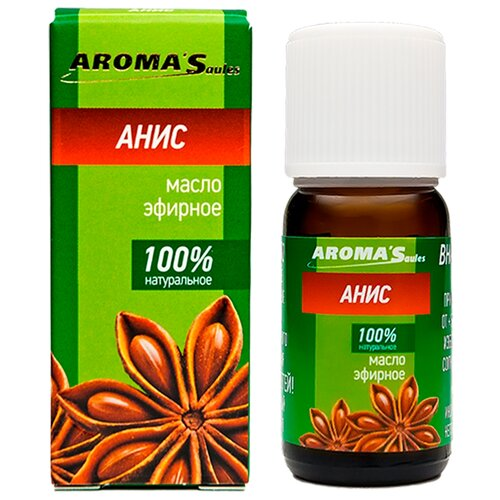 AROMA'Saules эфирное масло Анис, 10 мл