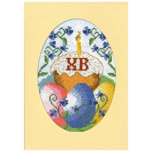 Набор для вышивания, открытка Воскресение Христово 11 х 16 см МАРЬЯ ИСКУСНИЦА 10.005.01 набор для вышивания марья искусница 11 001 24 испания