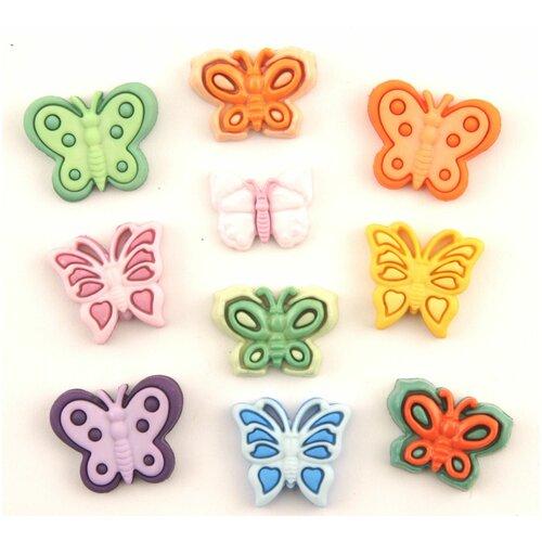 Купить 4252, Пуговицы. Бабочки, Buttons Galore & More