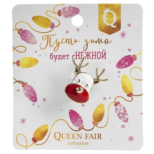 Queen fair Брошь Новогодняя сказка 4311353 queen fair брошь орден 102638