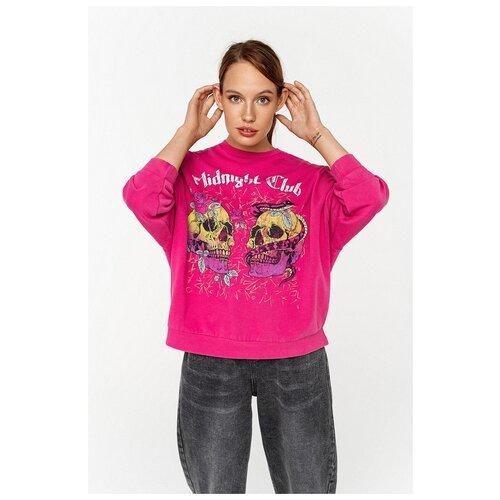 Свитшот Befree, размер S/44, розовый свитшот befree befree mp002xw1ga0d