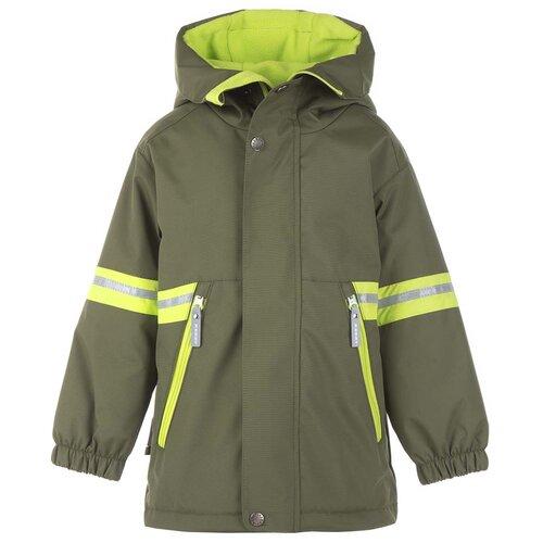Купить Куртка для мальчиков SHANON K21022-334, Kerry, Размер 104, Цвет 334-хаки, Куртки и пуховики