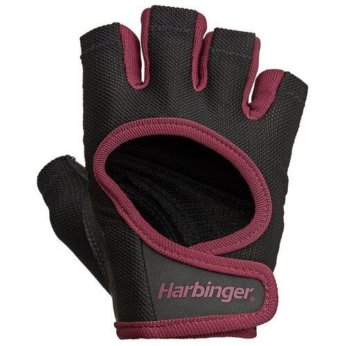 Перчатки Harbinger Power, женские, бордовые, размер S