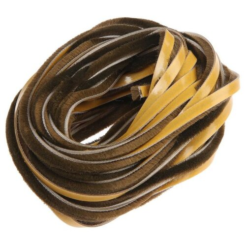 Шлегель для шкафа купе 7*6 мм коричневый (12 м) Ш6Р12 5434303