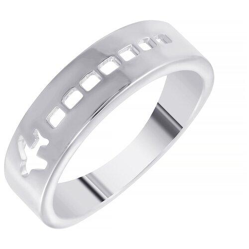 ELEMENT47 Кольцо из серебра 925 пробы GR12613A_KO_WG, размер 16.5