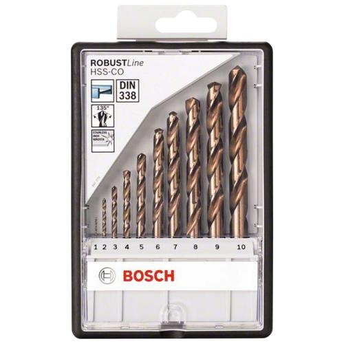 Фото - Набор сверл BOSCH Robust Line 2.607.019.925 набор сверл bosch robust line multi construction 2 607 010 543
