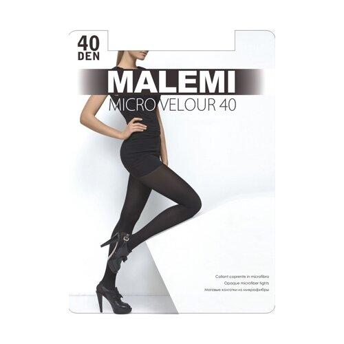 Колготки Malemi Micro Velour, 40 den, размер IV, chocolate (коричневый)