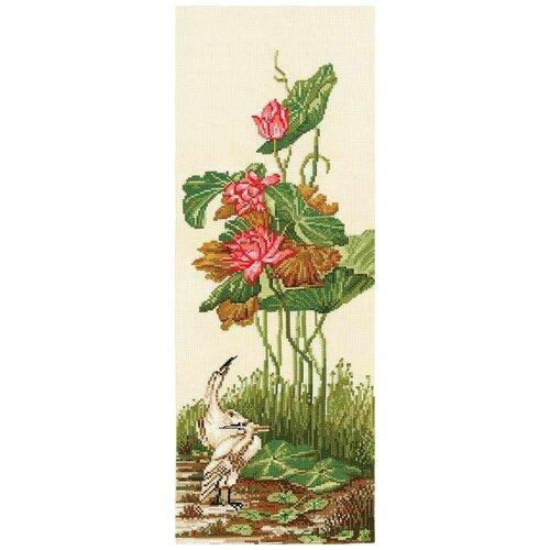 Купить Набор для вышивания СДЕЛАЙ СВОИМИ РУКАМИ К-32 Китайские мотивы-Лотосы 17, 5х45 см, Сделай своими руками, Наборы для вышивания