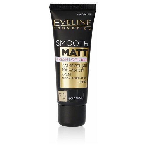 Eveline Cosmetics Тональный крем Smooth Matt, 30 мл, оттенок: 70 Gold Beige