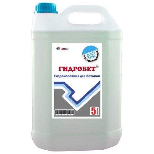Добавка гидроизоляционная Alfabet ГидроБетон 5л недорого