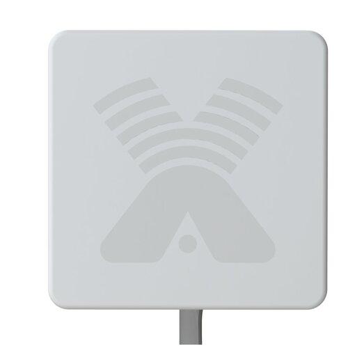 Внешняя антенна 3G/4G AGATA MIMO 2x2 BOX 17 дБ для усиления интернета