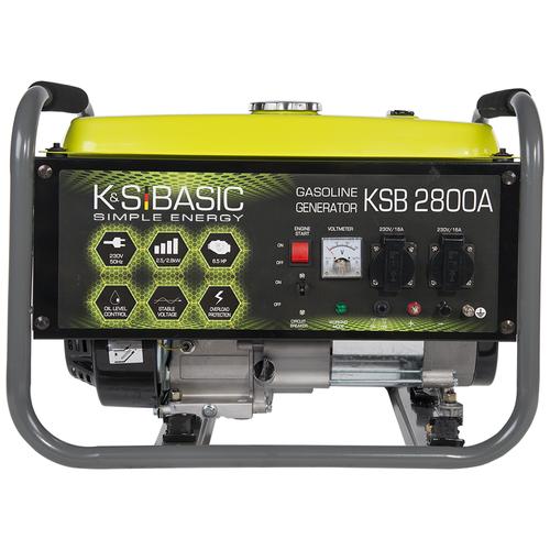 Бензиновый генератор K&S Basic KSB 2800A (2500 Вт)