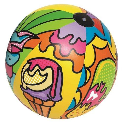 Мяч пляжный Bestway Поп-арт 31044 мульти надувной мяч пляжный поп арт 91 см bestway арт 31044