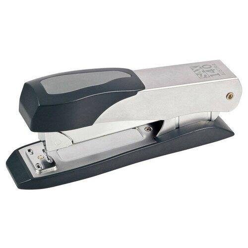 Купить SAX Степлер A 140 для скоб 24/6, 24/8, 26/6, 26/8 серый/черный, Степлеры, скобы, антистеплеры