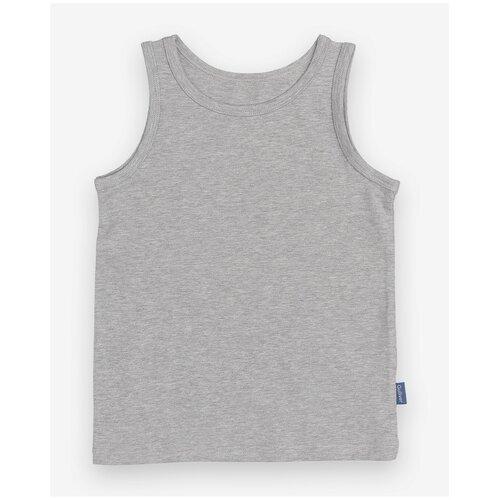 Купить Майка Gulliver размер 110-116, серый, Белье и пляжная мода