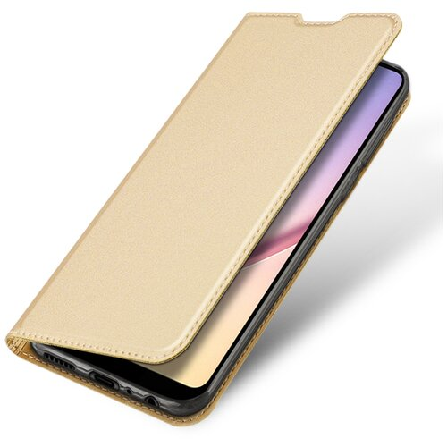 Чехол-книжка DUX DUCIS Skin Pro для Samsung Galaxy A21 золотой