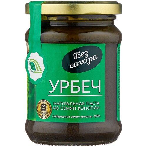 Фото - Биопродукты Урбеч из семян конопли, 280 г биопродукты урбеч натуральная паста из семян льна органического 280 г