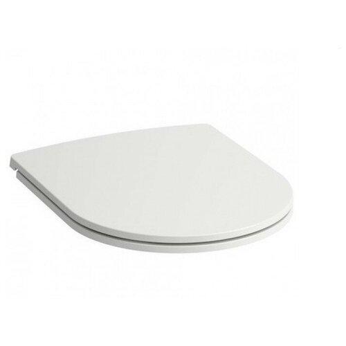 Фото - Крышка-сиденье для унитаза LAUFEN Pro Slim 898966 дюропласт с микролифтом белый сиденье для унитаза с микролифтом laufen palace 8 9170 1 300 000 1
