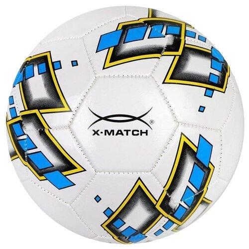 Футбольный мяч X-Match 56484 белый