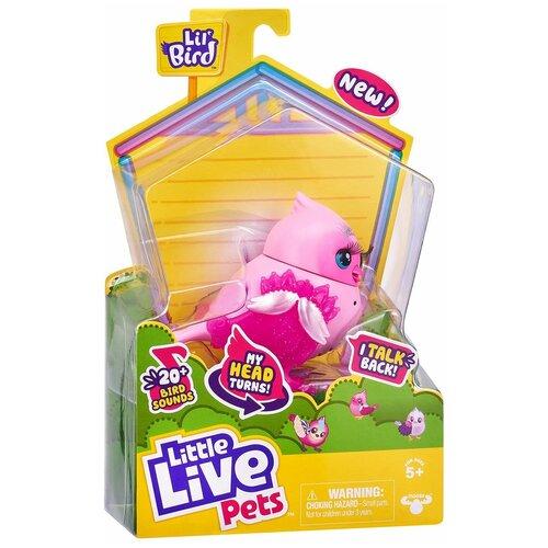 Купить Little Live Pets Птичка интерактивная Твитти-Тиара 26028, Роботы и трансформеры