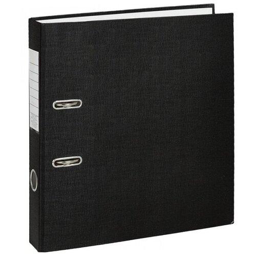 Фото - Attache Папка-регистратор Economy A4, бумвинил, 50 мм, 10 штук черный 2 attache папка регистратор economy под мрамор 50 мм черный синий