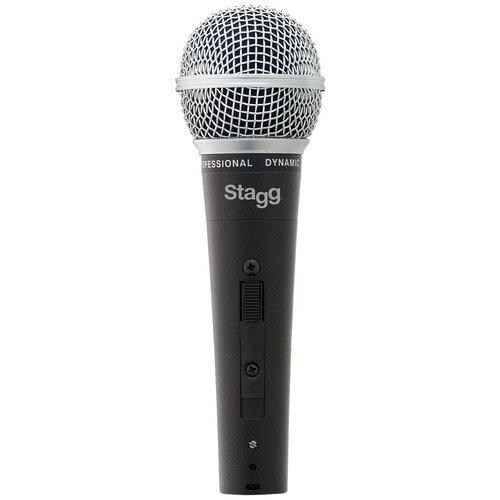 Микрофон Stagg SDM50, черный