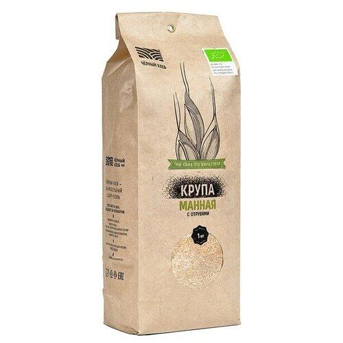 каши здоровые детки крупа манная с отрубями из пшеницы 500 г Крупа манная с отрубями Чёрный хлеб 1 кг