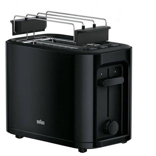 Тостер Braun HT 3010 BK PurEase, черный недорого