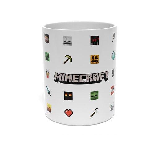 Кружка Майнкрафт / Кружка Minecraft / 330 мл