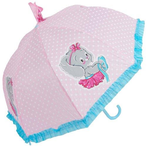 Зонт Mary Poppins розовый