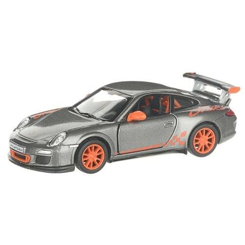 Купить Гоночная машина Serinity Toys 2010 Porsche 911 GT3 RS (5352DKT) 1:36, 12.5 см, темно-серый, Машинки и техника