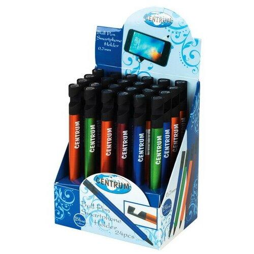 Купить Ручка шариковая Smartphone , треугольный корпус, цвета ассорти, синие чернила, 0, 7 мм., CENTRUM, Ручки