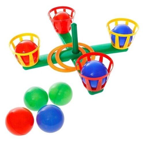 Купить Кольцеброс с корзинками 10040, Юг-пласт, Спортивные игры и игрушки