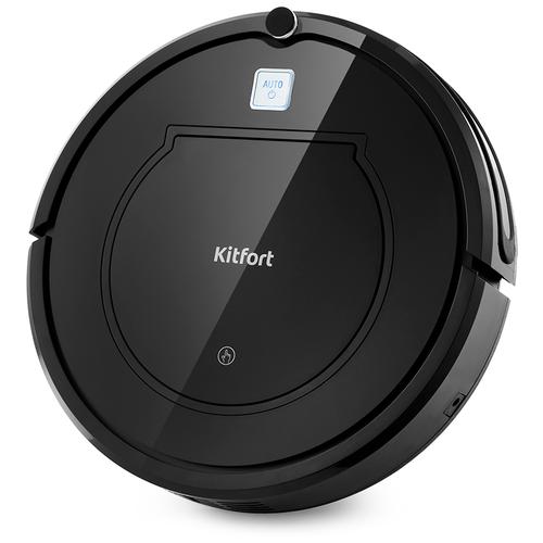 Робот-пылесос Kitfort КТ-568 черный